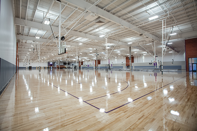 Four Gymnasium Designs Brought to Life with a Little Help from Draper