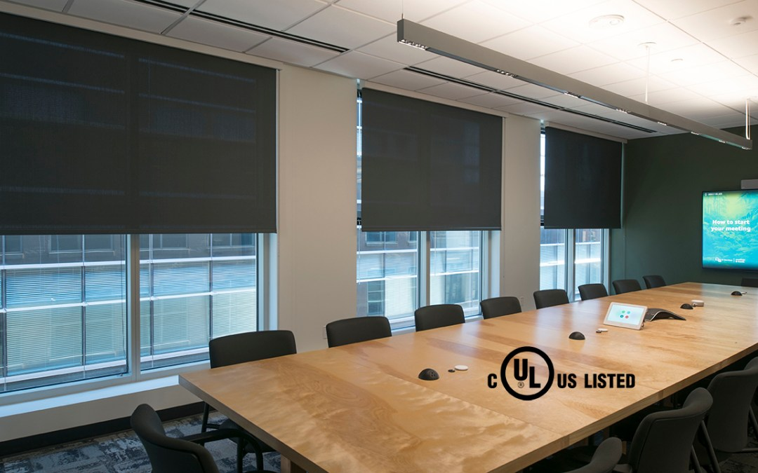 Draper Achieves UL Listing for Motorized FlexShade