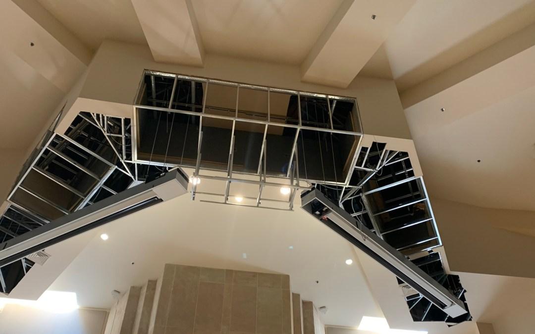 High Ceilings? Draper Has an Answer