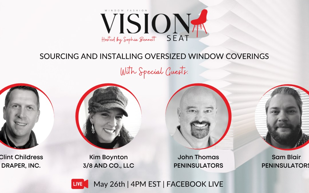 Sourcing and Installing Oversized Window Coverings