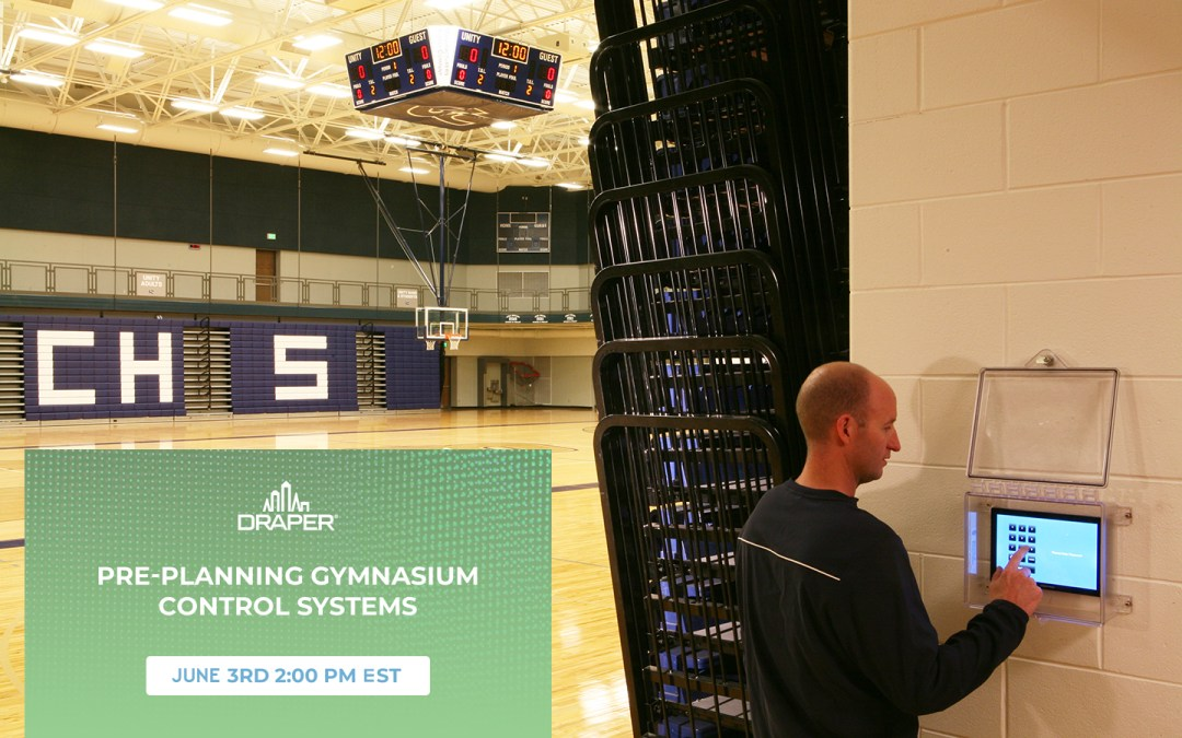 Rescheduled: Live Podcast on Gym Controls and Planning