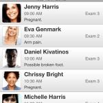 iPhone EHR Patient List
