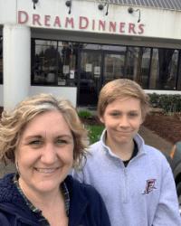 Dina Birmingham Beaverton Store Owner and Son
