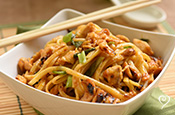Dream Dinners Cashew Chicken with Noodles