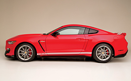 The 2016 GT350 after custom modifications