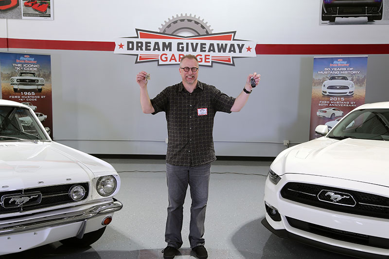 Tim Turbett, 2015 Mustang Dream Giveaway Winner