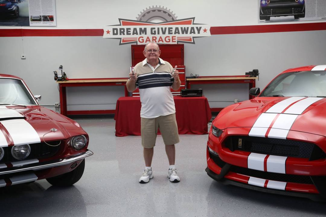 2016 Mustang Dream Giveaway Winner