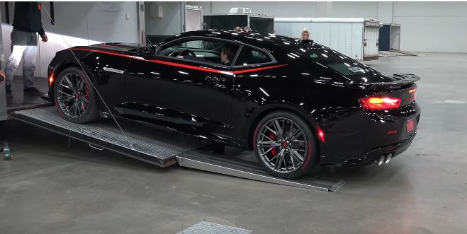 Unloading the 2017 Camaro Dream Giveaway ZL1