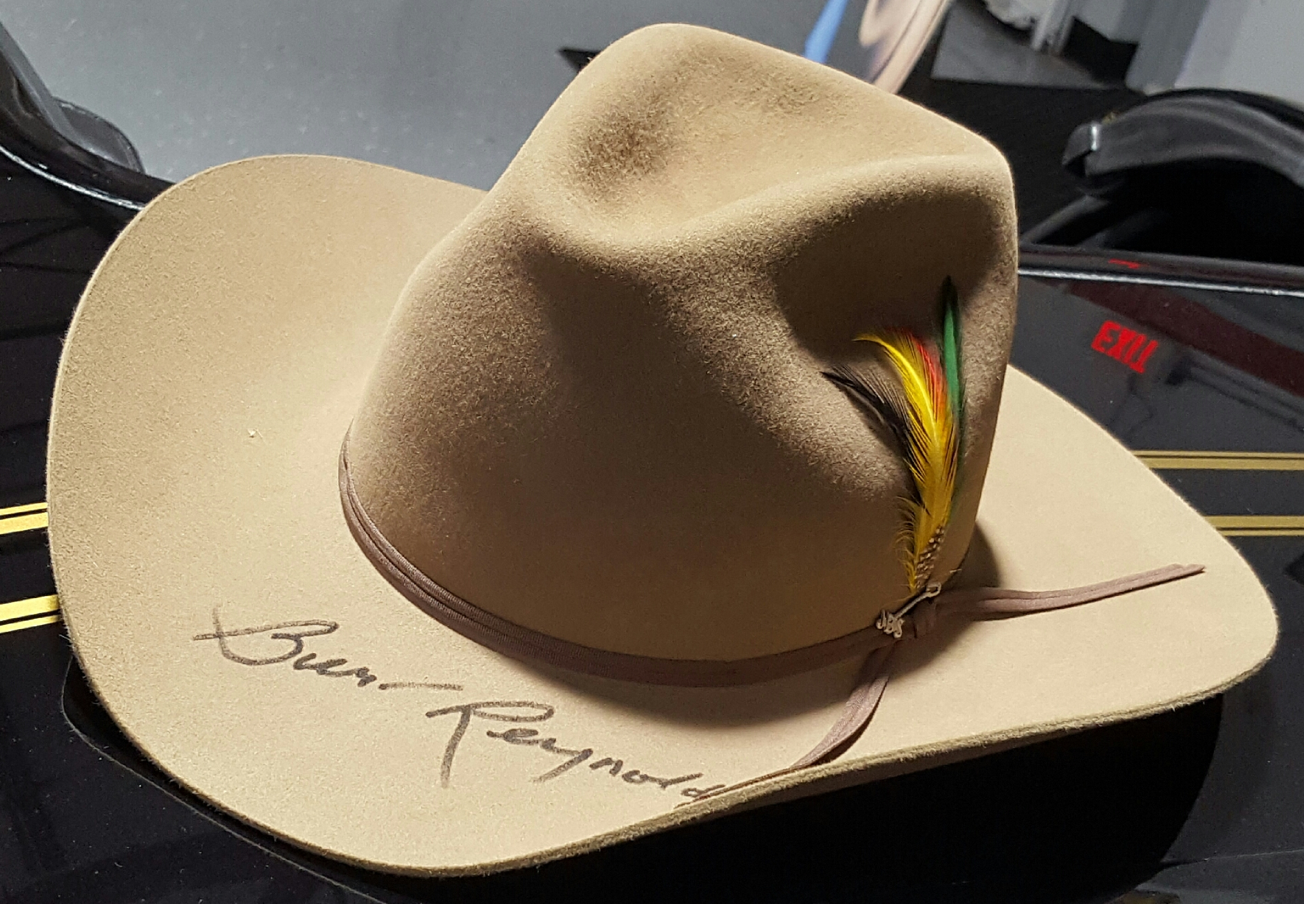 """a2bff163a8081 Win a Burt Reynold s Autographed """"Stetson""""Style Hat in the Bandit Dream  Giveaway"""