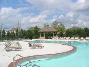 Belmont Place at Brooks Park swimming pool