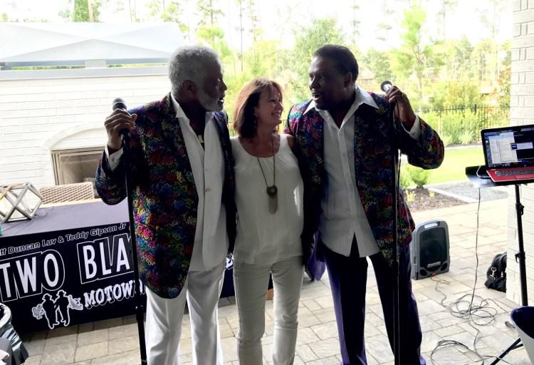 Linda and the band-