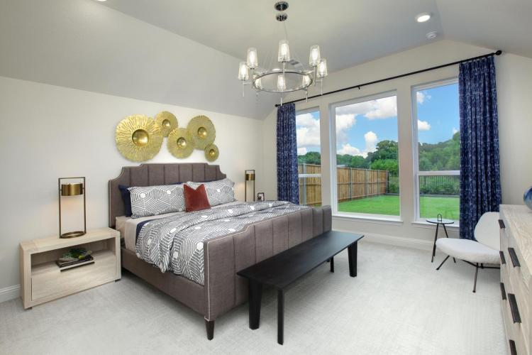 Drees Custom Homes | Huntley Model Home at The Preserve at Lake Forest in McKinney