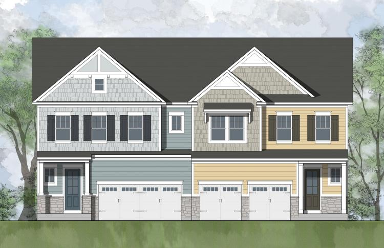 The Lily floor plan, a new and exciting floor plan from Drees Homes at Potomac Shores