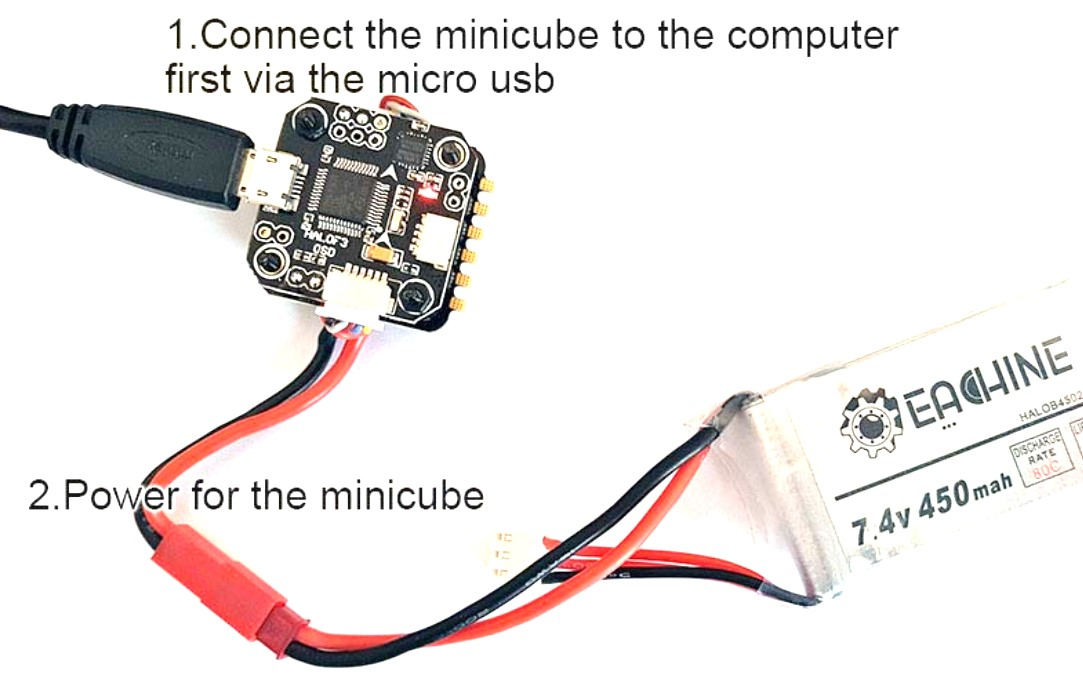 MiniCube F3 Flight Stack: Getting Started Guide – DroneTrest