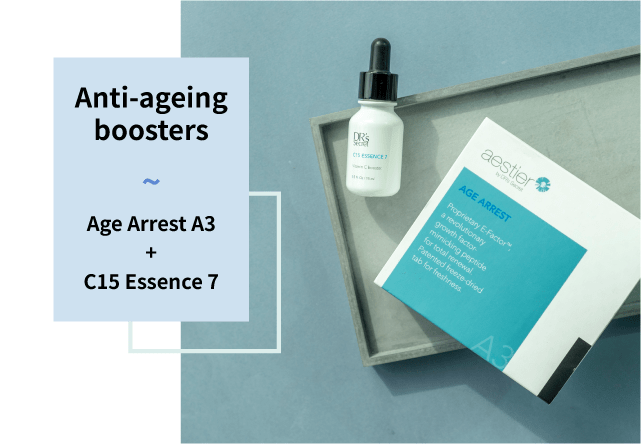 Age arrest A3 and C15 essence 7