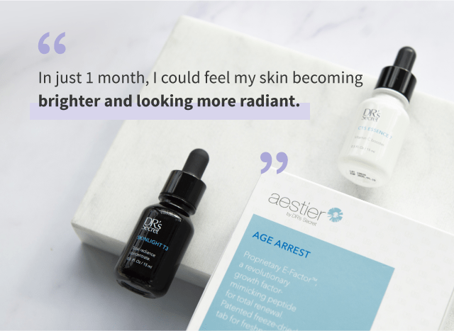 Brighter skin in just 1 month