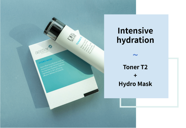Toner t2 and hydro mask
