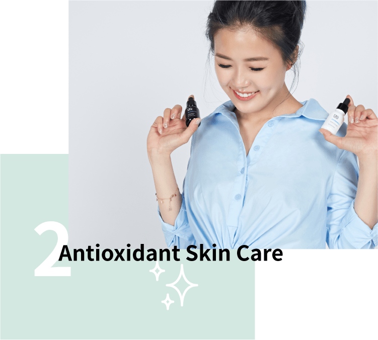 Antioxidant skin care for skin pollution
