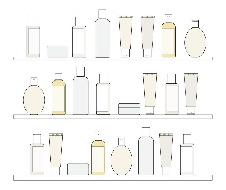 Skin care graphics