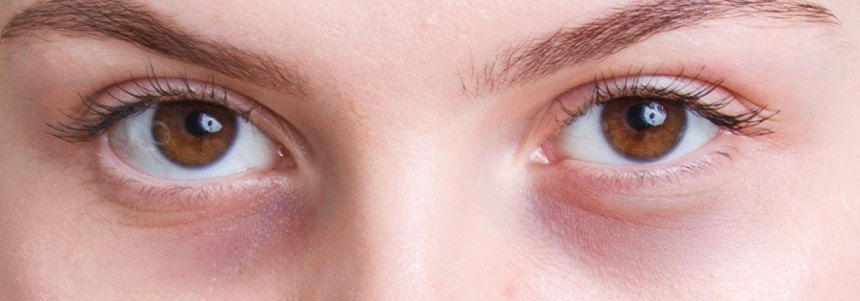 Fairer or thinner skin eye area
