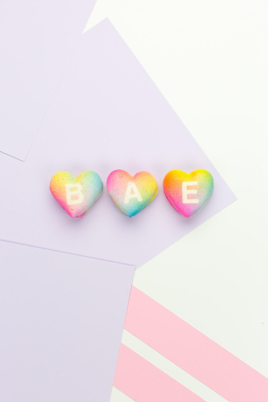 Gradients cookies hearts