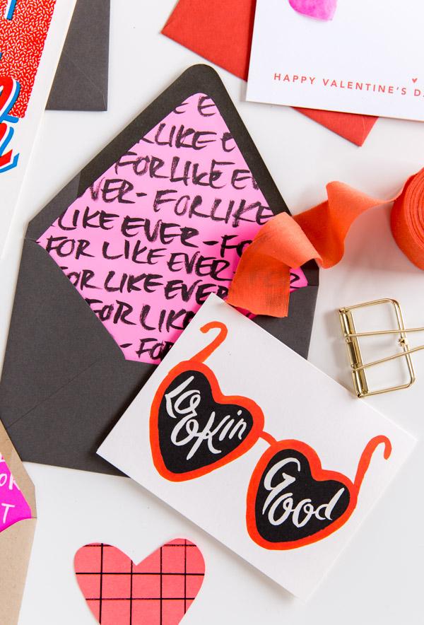 diy envelop liners