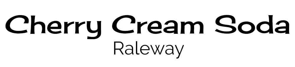 lettertype combinatie-cherry-cream-soda-raleway