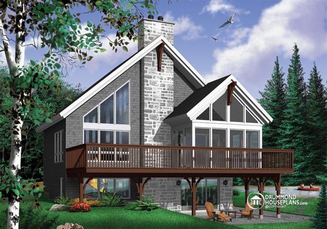 Chalet House Plan 3