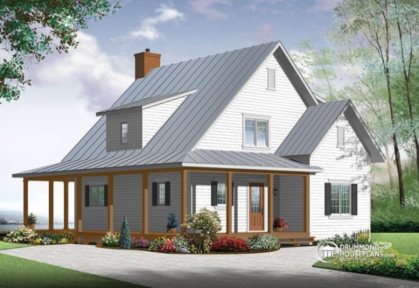 New  beautiful   small modern farmhouse cottage Beautiful   small modern farmhouse house plan