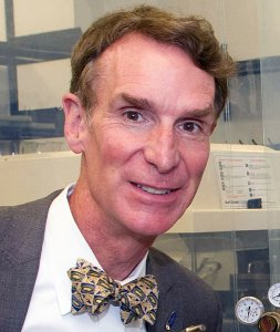 """Bill Nye is known as """"The Science Guy,"""" even though some of his behavior is rather anti-science. (click for credit)"""
