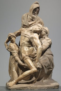 The Florence Pieta by Michelangelo (click for larger image)