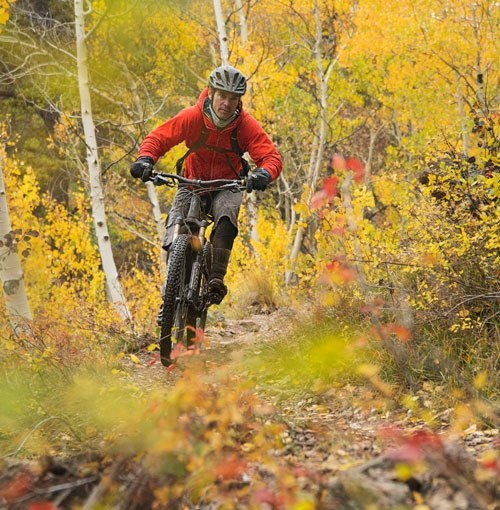 Riding the Monarch Crest Trail