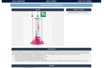 eBay mobile friendly template
