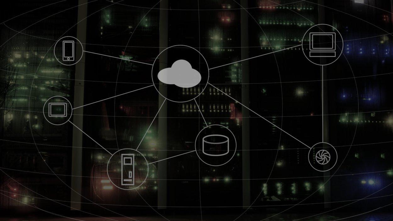 Imagem que mostra os elementos da computação em nuvem