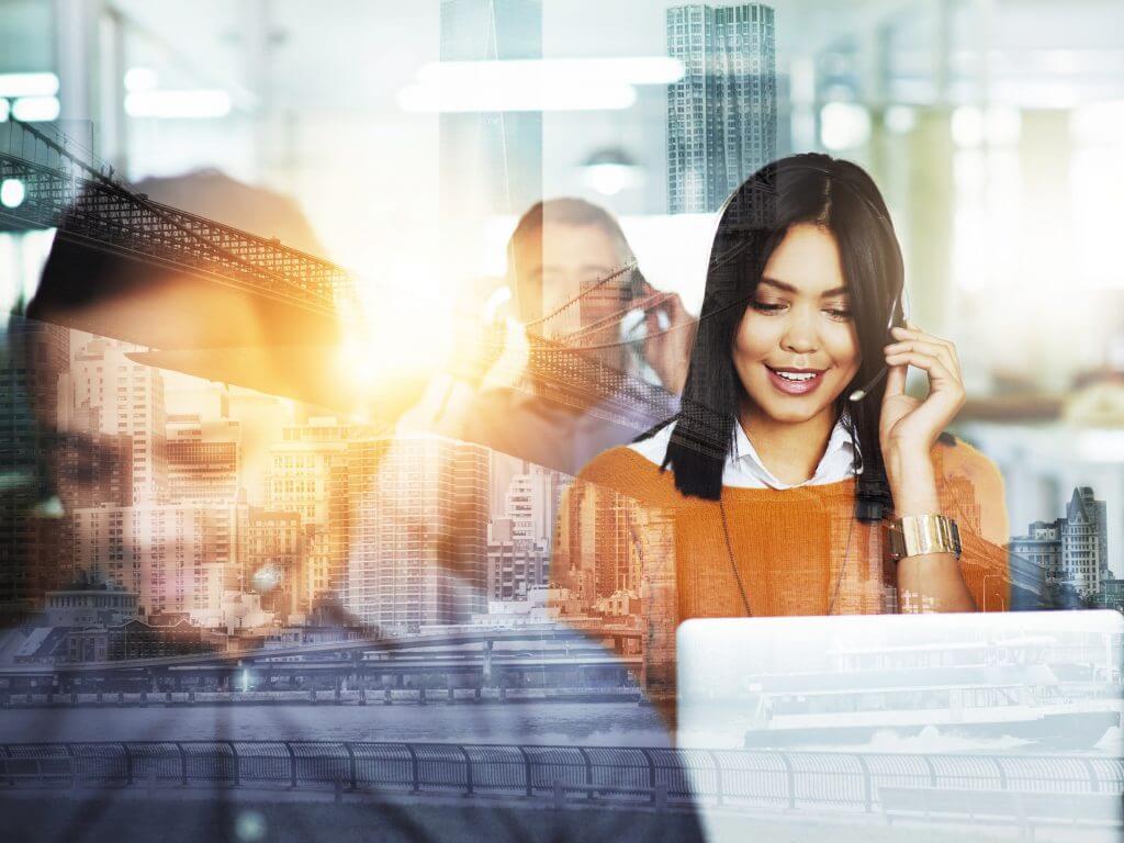 imagem destacada para um call center que funciona integrado a um crm