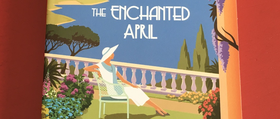 The Enchanted April, by Elizabeth von Arnim (detail)