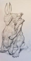 Illustration from 100 Hugs