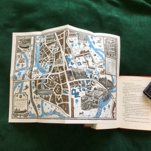 Map from Lyra's Oxford