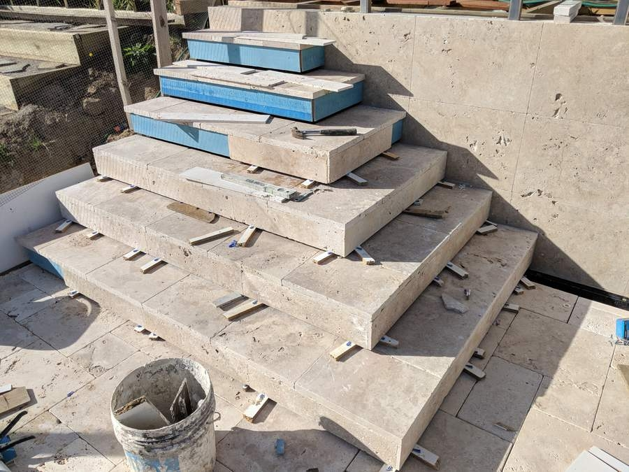 Designing And Building The Pool Stairs | Concrete Stair Formwork Design | Round | Master | Broken | Slab | Small Space