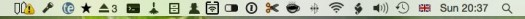 Menu bar icons