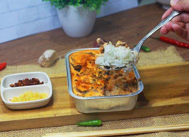 MAUDON Beef Mentai Rice dok. duniamasak jakarta mentai