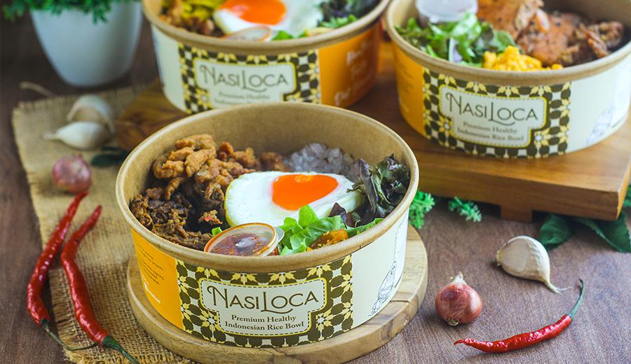 Nasi loca premium healthy indonesian rice bowl dok. duniamasak.com