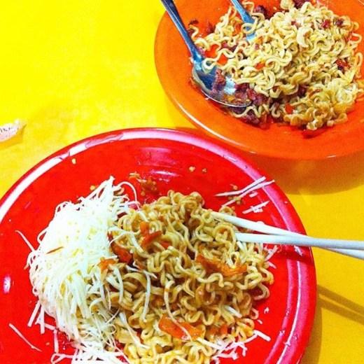Indomie Abang Adek Via Instagram @foodiejakarta