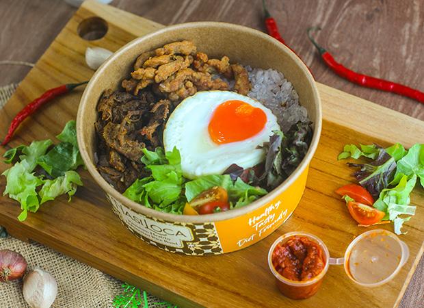 Shirataki Nasi Oseng Sapi Rendang dok. duniamasak.com