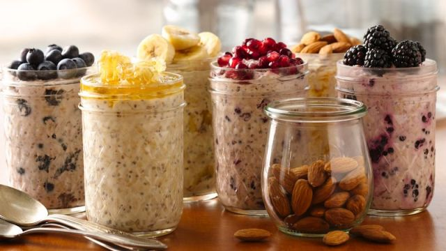 Varian Overnight Oats via www.pillsbury.com