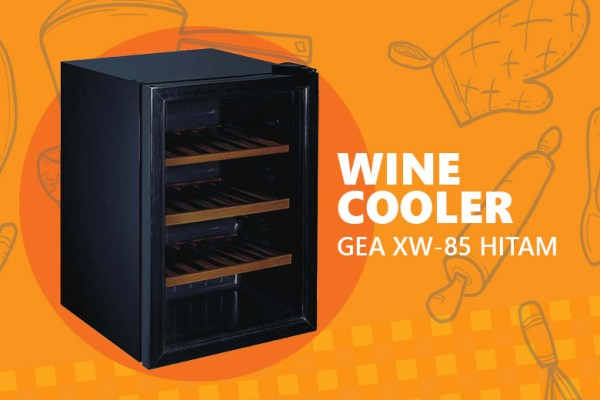 Wine Cooler GEA XW-85 via DuniaMasak.com