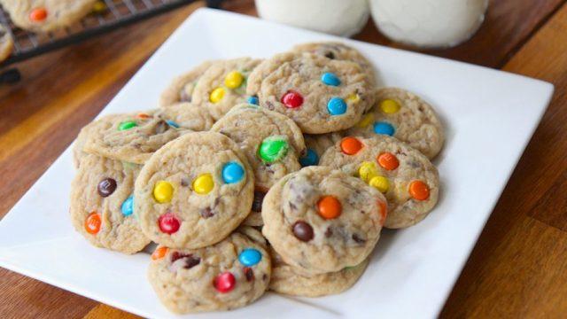 M&M's Cookies Resep Kue Kering Natal yang Memanjakan Lidah dan Instagrammableala Duniamasak via divascancook.com