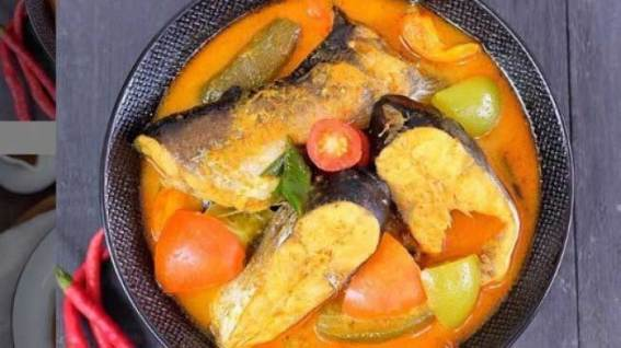 Makanan Khas Dumai via suara.com ala tim duniamasak.com Asam pedas patin