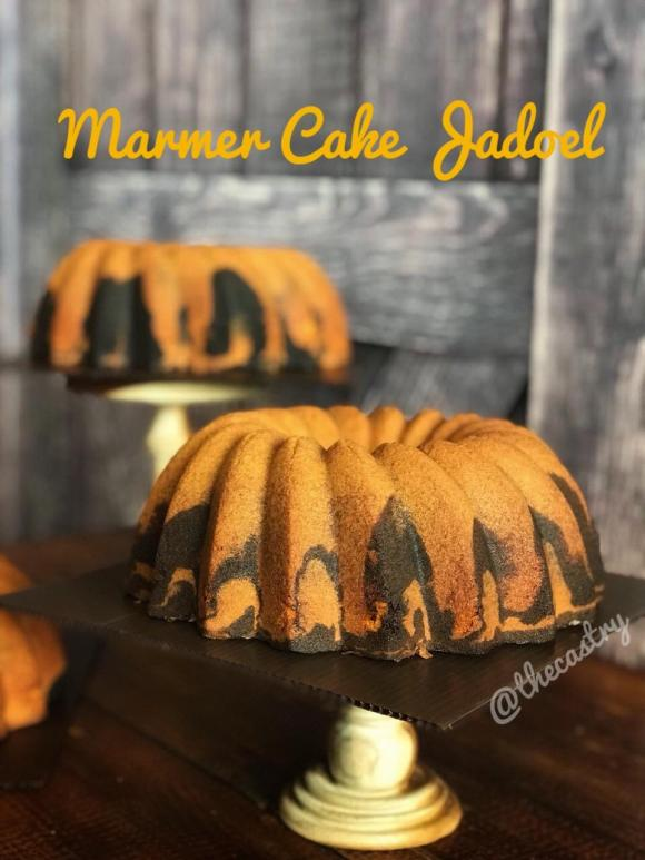 Marmer Cake Jadoel ala @thecastry via dok. pribadi