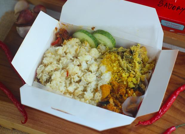 Nasi Bakar Ayam Balado dok. duniamasak.com